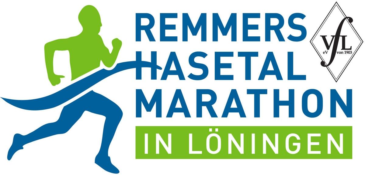 zum Bild:Logo Remmers-Hasetal-Marathon des VfL Löningen.