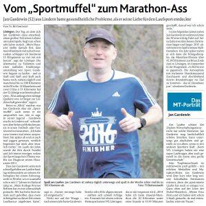 zum Bild: Bericht der Münsterländischen Tageszeitung vom 26.03.2021.