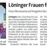 zum Bild:Bericht der Münsterländischen Tageszeitung vom 30.01.2019.