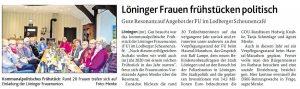 zum Bild: Bericht der Münsterländischen Tageszeitung vom 30.01.2019.
