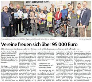 zum Bild: Bericht der Münsterländischen Tageszeitung vom 04.04.2019.