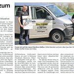zum Bild:Bericht der Münsterländischen Tageszeitung vom 04.05.2019.
