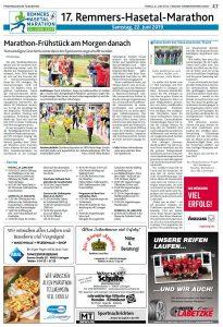 zum Bild: Bericht der Münsterländischen Tageszeitung vom 21.06.2019, Seite 2.