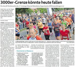 zum Bild: Bericht der Münsterländischen Tageszeitung vom 22.06.2019.