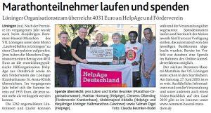 zum Bild: Bericht der Münsterländischen Tageszeitung vom 26.07.2019.