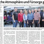 zum Bild:Bericht der Münsterländischen Tageszeitung vom 17.08.2019.