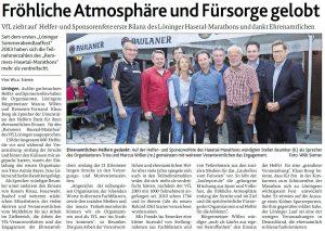 zum Bild: Bericht der Münsterländischen Tageszeitung vom 17.08.2019.