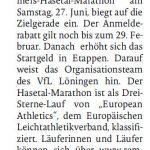 zum Bild: Bericht der Münsterländischen Tageszeitung vom 19.02.2020.
