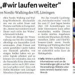 zum Bild:Bericht der Münsterländischen Tageszeitung vom 28.05.2020.