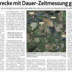 zum Bild:Bericht der Münsterländischen Tageszeitung vom 27.03.2021.