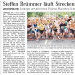 zum Bild:Bericht der Nordwest-Zeitung vom 30.06.2009.