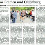 zum Bild:Bericht der Nordwest-Zeitung vom 17.01.2019.