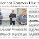zum Bild: Bericht der Nordwest-Zeitung vom 03.03.2021.