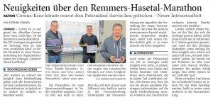zum Bild: <br>Bericht der Nordwest-Zeitung vom 03.03.2021.
