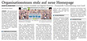 zum Bild:<br>Bericht der Nordwest-Zeitung vom 05.03.2021.