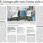 zum Bild:Bericht der Nordwest-Zeitung vom 18.03.2021.