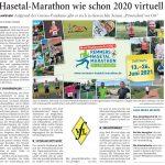 zum Bild:Bericht der Nordwest-Zeitung vom 31.03.2021.