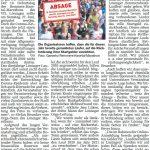 zum Bild;Bericht im Sonntagsblatt für den Landkreis Cloppenburg vom 02./03.05.2020.