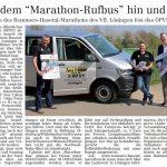 zum Bild:Bericht im Volltreffer - der Lokalzeitung vom 18.04.2019.