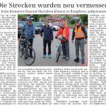 zum Bild:Bericht im Volltreffer - der Lokalzeitung vom 31.05.2019.