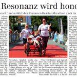zum Bild:Bericht im Volltreffer - der Lokalzeitung vom 07.11.2019.