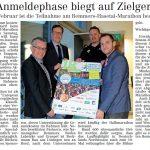 zum Bild:Bericht im Volltreffer - der Lokalzeitung vom 20.02.2020.