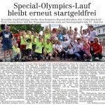zum Bild:Bericht im Volltreffer - der Lokalzeitung vom 16.04.2020.