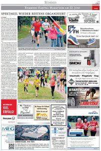 zum Bild: Bericht Cloppenburger Wochenblatt vom 19.06.2019, Seite 2.