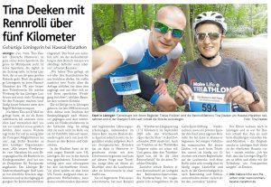 zum Bild:<br>Bericht der Münsterländischen Tageszeitung vom 22.04.2021.