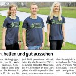zum Bild:Bericht der Münsterländischen Tageszeitung vom 05.05.2021.