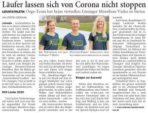 zum Bild:Bericht der Nordwest-Zeitung vom 13.04.2021.