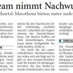 zum Bild:Bericht der Nordwest-Zeitung vom 28.04.2021.