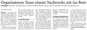 zum Bild:<br>Bericht der Nordwest-Zeitung vom 28.04.2021.