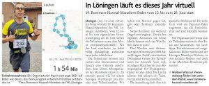 zum Bild:<br>Bericht der Münsterländischen Tageszeitung vom 07.05.2021.