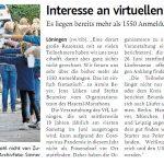 zum Bild:Bericht der Münsterländischen Tageszeitung vom 27.05.2021.