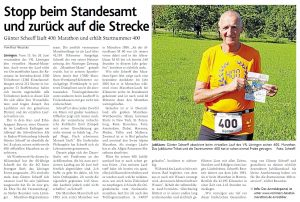 zum Bild:<br>Bericht der Münsterländischen Tageszeitung vom 08.06.2021.