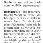 zum Bild:Bericht der Nordwest-Zeitung vom 11.06.2021.