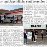 zum Bild:Bericht im Volltreffer – die kostenlose Lokalzeitung, vom 27.05.2021.