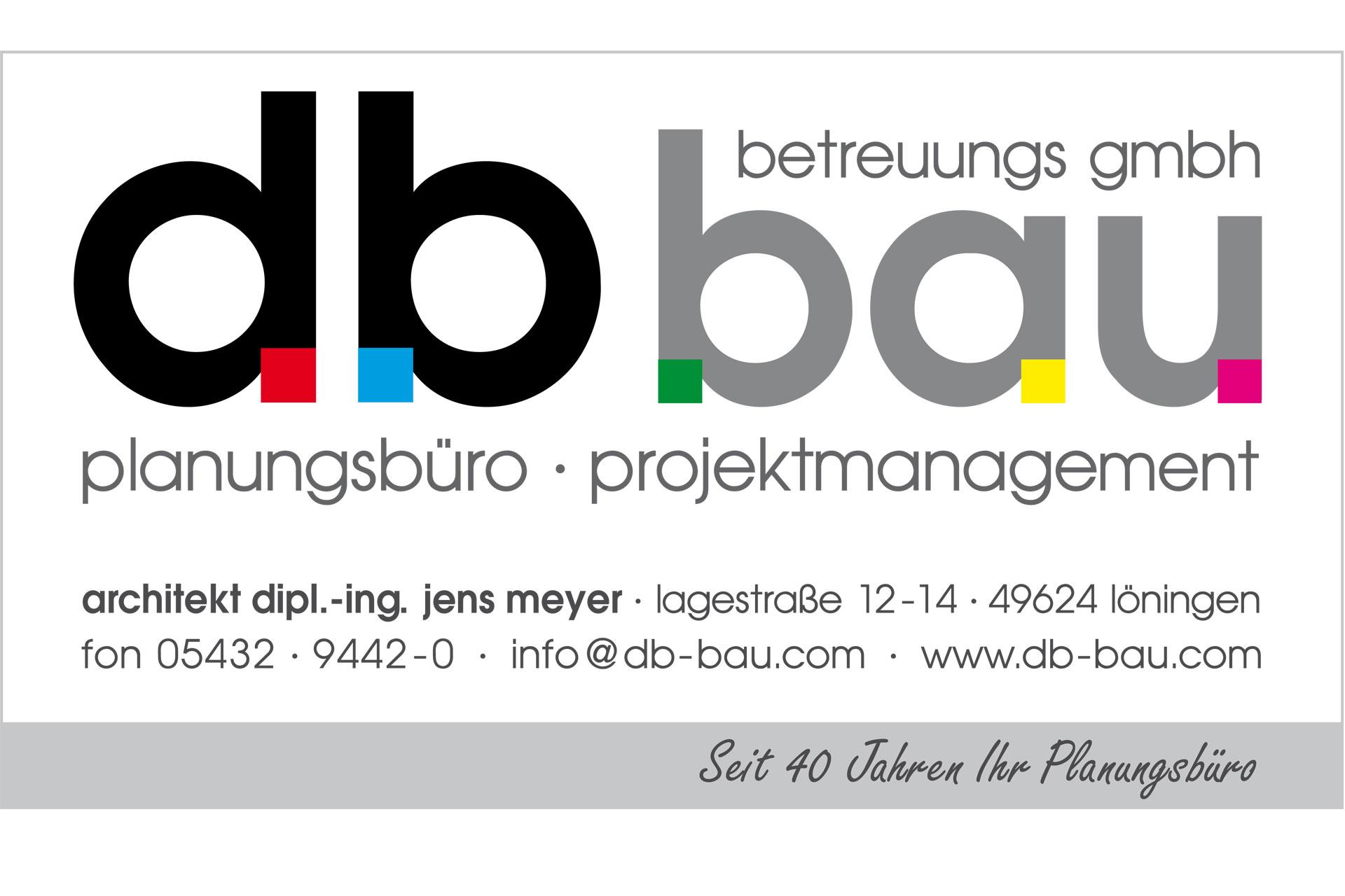 zum Bild:Logo db-bau-betreuungs GmbH