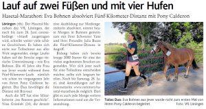 zum Bild:<br>Bericht der Münsterländischen Tageszeitung vom 19.06.2021.