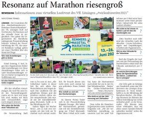 zum Bild:<br>Bericht der Nordwest-Zeitung vom 10.06.2021.