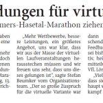 zum Bild:Bericht der Nordwest-Zeitung vom 23.06.2021.